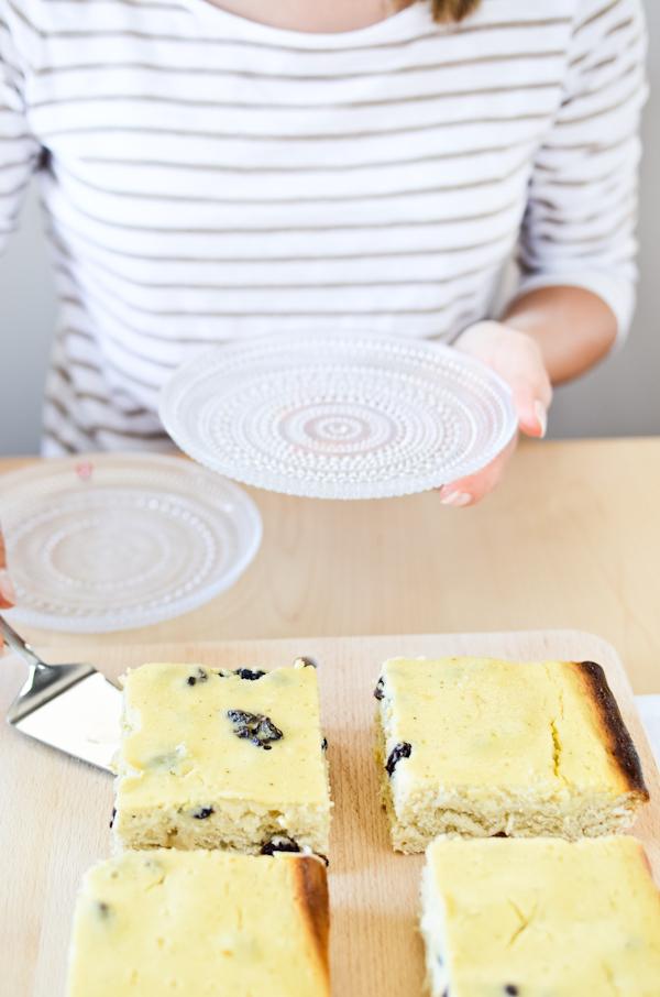 Rahkapiirakka Finnish Quark Pie