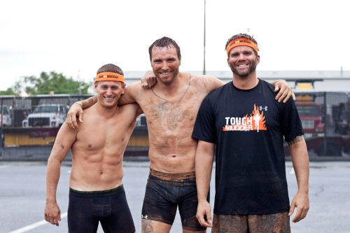 the boys / tough mudder