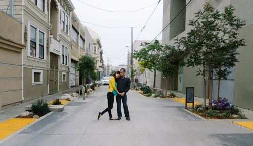 San Francisco Engagement Shots / A Thousand Threads