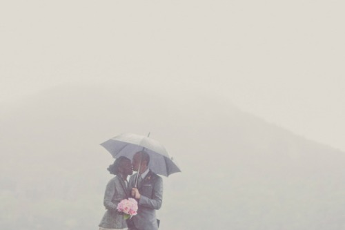 our labor of love / rain on your wedding day