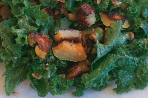 roasted delicata squash and hazelnut salad / a thousand threads